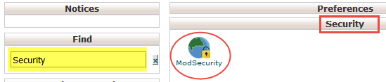 1-Mod Security